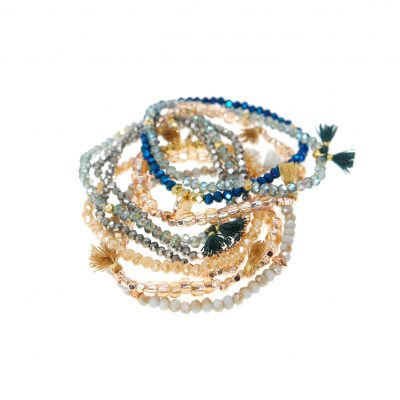 Walter Mittie | stretchy, bracelets |