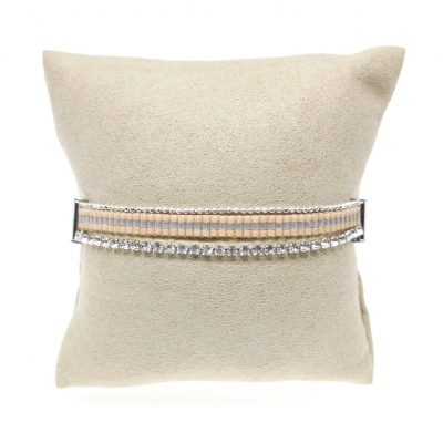 Clair II | seedbeads, layered, bracelets |