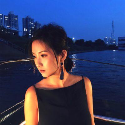 Blue Steel | Navy Blue Tassel Earrings | tassel-earrings, silk, earrings, best-sellers |