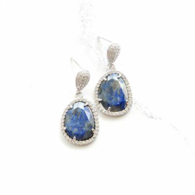 Drops (of) Jupiter II   semi-precious-earrings, earrings, drops  
