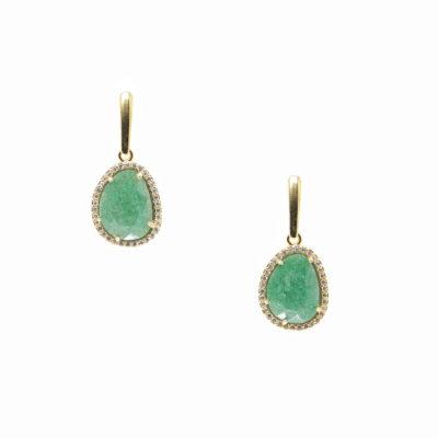 Drops (of) Jupiter III | semi-precious-earrings, earrings |