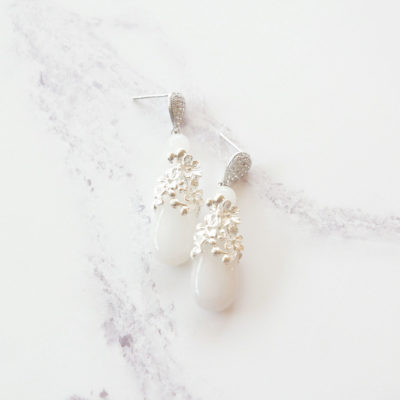 Ellie Rose | jade, semi-precious-earrings, earrings |