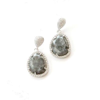 Drops (of) Jupiter IV   semi-precious-earrings, earrings, drops  