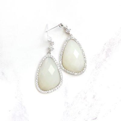 Shiro | Icy Jade Earrings | jade, earrings |