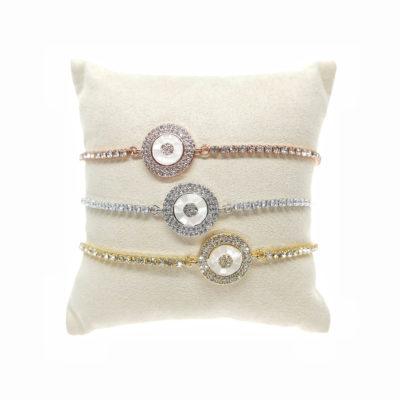 Perla I | strings, semi-precious, bracelets |