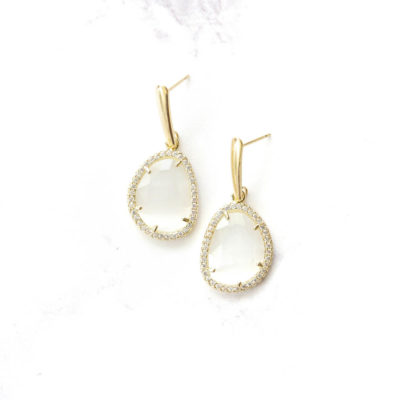 Mokusei Drops II | semi-precious-earrings, earrings, drops, best-sellers |