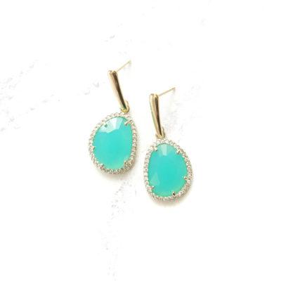 Mokusei Drops III | new-arrivals, semi-precious-earrings, earrings |