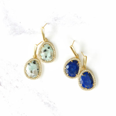 Drops (of) Jupiter VIII | semi-precious-earrings, new-arrivals, earrings, drops |